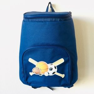 Kids 18 Can Backpack Cooler with Sport Theme
